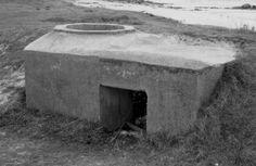 Le Mur de l'Atlantique Tobrouk à St Egarec