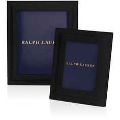 "Ralph Lauren Brennan Frame, 5"" x 7"" (14.550 RUB) ❤ liked on Polyvore featuring home, home decor, frames, black, ralph lauren picture frames, black home decor, black picture frames, inspirational frames and ralph lauren frames"