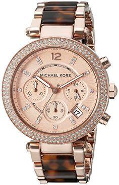 Michael Kors Women's MK5538 Parker Brown Crystal-Accented Watch Michael Kors http://www.amazon.com/dp/B005OBAVZO/ref=cm_sw_r_pi_dp_nHdMwb1BKG6G9