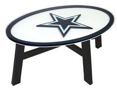 Dallas Cowboys Coffee Table $299.99 http://www.fansedge.com/Dallas-Cowboys-Coffee-Table-_114621794_PD.html?social=pinterest_pfid47-13459