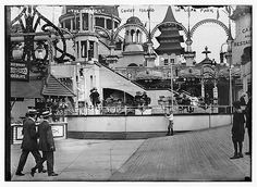 Luna Park at Coney Island- the turn of the century