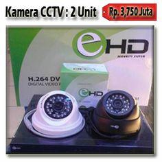 2 Kamera CCTV AHD 1.3MP