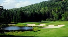 Mont-Tremblant Golf Le Maître   Club Link  Parcours | re-pinned by http://www.waterfront-properties.com/pbgpganational.php