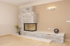 Download Fireplace stock photo. Image of crackling, burning, granite - 13224448