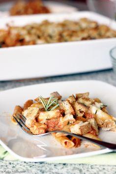 Penne-Hähnchen-Auflauf | Penne chicken savoury