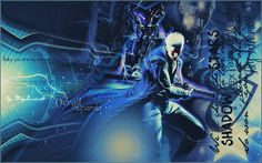 """I Love You Vergil, That's It""   Vergil Sparda-Devil Mat Cry (c) CAPCOM."