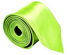 "Moda Di Raza - Mens Fashion Necktie 3.5""-Satin Silk Finish Ties - HotLime Moda Di Raza http://www.amazon.com/dp/B00OEEZJ6S/ref=cm_sw_r_pi_dp_bludxb0HTT2E8"