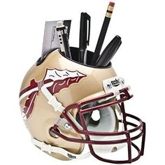 NCAA Florida State Seminoles Helmet Desk Caddy