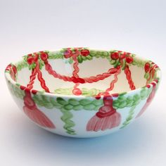 wernfried Serving Bowls, Decorative Bowls, Tableware, Red, Green, Tablewares, Dinnerware, Dishes, Place Settings