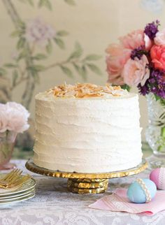 An Easter Coconut Cake Recipe   Victoria Mag.