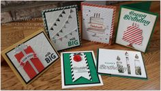 Alternate card/tag ideas using the Birthday Bright Project Kit from Stampin' Up!  www.midmostamping.com