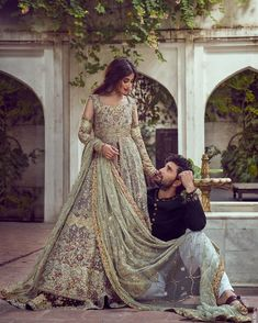 """Sajal Ali Firdous"" & ""Ahad Raza Mir"" shoot for Wadrobe Styled by MUA Photographer Art Director Pakistani Wedding Outfits, Pakistani Bridal Dresses, Pakistani Wedding Dresses, Bridal Outfits, Indian Dresses, Indian Outfits, Pakistani Wedding Photography, Shadi Dresses, Bridal Sarees"