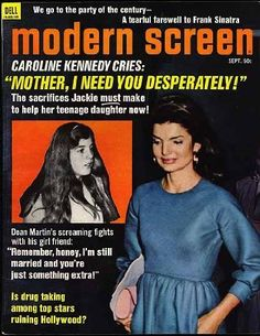 Modern Screen Magazine; September 1971 (Caroline and Jackie Kennedy cover) (Dean Martin feature) (Vol. 65, No. 9), http://www.amazon.com/dp/B008AY6LX8/ref=cm_sw_r_pi_awdm_YnwTvb1QWJYFD