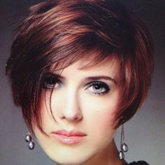 short hairstyles with highlights/lowlights   Short Layered Crop With Highlights & Lowlights #eav #eavig #instagram ...