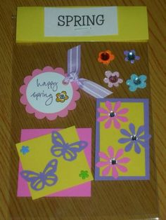 Spring Card Candy by hearts2u - Cards and Paper Crafts at Splitcoaststampers