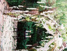 Gorgeous ceremony structure by Nico Cervantes/ NLC Productions nicosb.com   Susan Dean Photo
