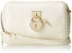 Amazon: Juicy Couture Signature Leather Mini Steffy YHRU3658 Cross Body Bag, BLACK, One Size