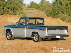 Dodge Trucks | 1967 Dodge D100 Pickup Truck - she's Blue and her name is The Jammy Dodger and she is coooool!