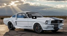 Awesome 1966 Mustang Shelby GT350CR at SEMA 2016