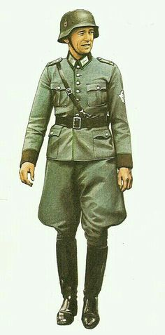 Ordnungs polizei officer 1939 - pin by Paolo Marzioli
