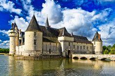 Soulaire-et-Bourg, Château du Plessis-Bourré, Pays de Loire (France)
