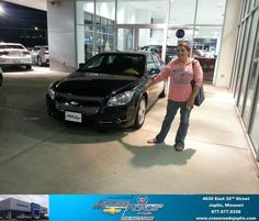 #HappyAnniversary to Angeline Matthews on your 2008 #Chevrolet #Malibu from Romie Lee at Crossroads Chevrolet Cadillac!