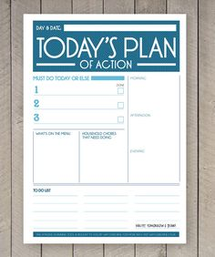 Like this layout - Printable Day Planner Organiser Agenda by SamOsborneStore on Etsy