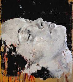Kai Fine Art is an art website, shows painting and illustration works all over the world. Monochromatic Art, Monochrome, Beauty In Art, Italian Painters, Realistic Paintings, Portrait Art, Beautiful Artwork, Face Art, Medium Art