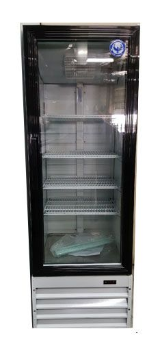 b7351f58780 PGDR9.1 9 Cu Ft Glass Door Refrigerator New Commercial Refrigerator by PURE  Manufacturing of