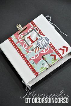 idea for mini album ♥ Mini Albums Scrap, Mini Scrapbook Albums, Scrapbook Cards, Hello Life, Album Book, Art Pages, Bookbinding, Mini Books, Scrapbooks
