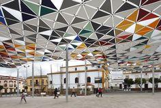 PEDESTRIANISATION AND SOCIABILITY IN LAS CABEZAS DE SAN JUAN, SEVILLE by Costa Fierros Arquitectos