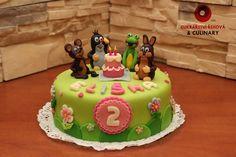 Výsledek obrázku pro dort krteček Birthday Cake, Desserts, Cakes, Food, Tailgate Desserts, Deserts, Cake Makers, Birthday Cakes, Kuchen