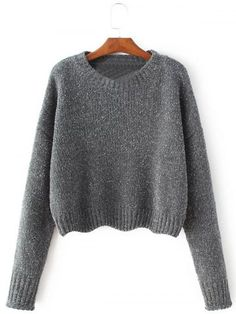 GET $50 NOW | Join RoseGal: Get YOUR $50 NOW!http://www.rosegal.com/sweaters/crew-neck-pullover-knit-sweater-826560.html?seid=6145535rg826560