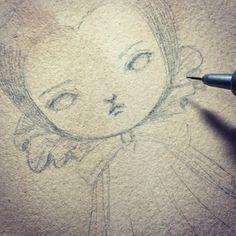 Maleficent in progress.  #danitaart #pencildrawing #graphitedrawing #graphite #mixedmedia #wip #maleficent