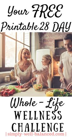 28 Day Whole-Life Wellness Challenge