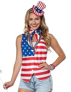 California Costumes Patriot Lady Kit Adult Costume Kit La... Https:/