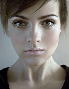 All natural makeup.... =) beautiful...