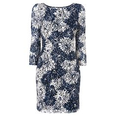 Buy Phase Eight Floral Lace Tunic Dress, Blue / White Online at johnlewis.com