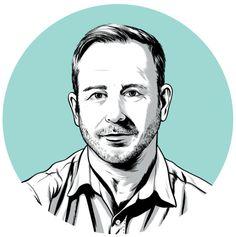 Good-Looking Portrait Illustrations by JoelKimmel