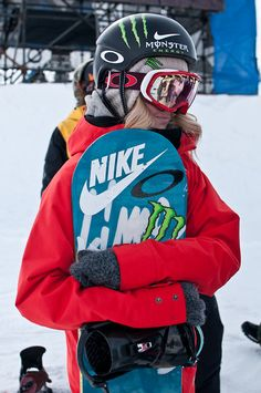 Nike. Just do it. Snowboard!