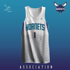 Nba Uniforms, Sports Uniforms, Basketball Uniforms, Basketball Jersey, Sports Jersey Design, Sports Jerseys, Brown Lip, Charlotte Hornets, Uniform Design