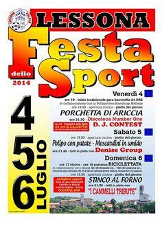 Festa dello Sport - Lessona