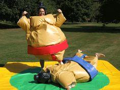 Sumo suit wrestling!!!