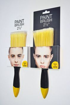 Jedward Brushes - Packaging