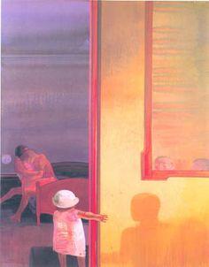 Bay Area Figurative Movement, Leonardo, Landscapes, Portraits, Characters, Neon, Colours, Fine Art, Drawings