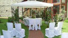 Gazebo, Outdoor Structures, Patio, Table Decorations, Outdoor Decor, Furniture, Home Decor, Wedding, Kiosk