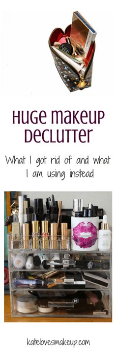 HUGE MAKEUP DECLUTTE
