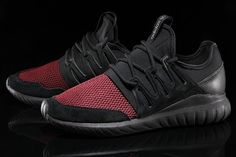 Adidas Tubular Radial Grey Black Red | Solecollector