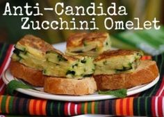 Nourish your body and keep you from becoming a giant breeding ground for colonies of Candida. #zucchinirecipes