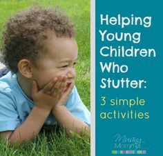 Musing Momma: Helping Your Toddler or Preschooler Who Stutters. Repinned by SOS Inc. Resources pinterest.com/sostherapy/.